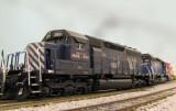 MRL 263, Athearn RTR SD40.