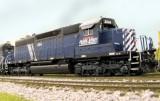 MRL 204, Athearn RTR SD40.