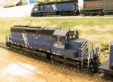 MRL 257, a rebuilt Kato SD40.