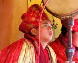 Monk - Trongsa Dzong