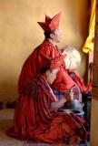 Monks - Trongsa Dzong
