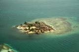 Random island in San Blas