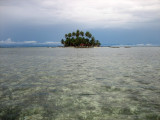 Arriving at Coco Blanco Island...