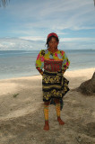 A typical Kuna woman
