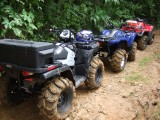 Sportsman 800, Grizzly 700 and Outlander 800