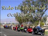 Ride to Idyllwild, October 2006
