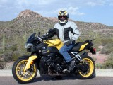Ed astride the Yellow Rocket