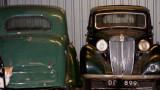 green 1947 MGYA , black  1949 MGYA  (cars belonging to neighbour down the road)