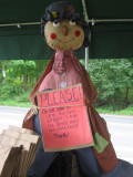 farmstand scarecrow.