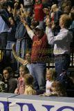 Tim McGraw celebrates a Nashville Kats touchdown
