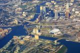 Aerial of downtown Tampa, Florida (non tilt-shift experiement)