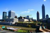 Downtown Cleveland, Ohio from Cleveland Browns Stadium