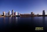 Downtown Tampa, Florida from Davis Island