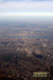 Aerial of Detroit, Michigan & Winsor, Canada
