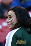 Face-painted New York Jets fan