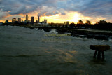 Cleveland, Ohio from Edgewater Park