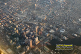 Aerial of downtown Baltimore