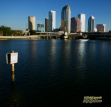 Downtown Tampa, Florida as seen from Davis Island