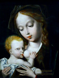 Baby Jesus with the Virgin Mary