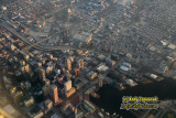 Aerial of downtown Baltimore, Maryland