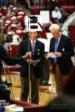 CBS Sports announcers Kevin Harlan & Bill Raftery