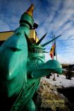 Statue of Hawkeye Liberty