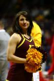 NCAA University of Minnesota cheerleader