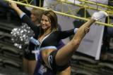 AFL Kansas City Bridage cheerleader