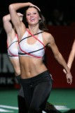 AFL Grand Rapids Rampage cheerleader