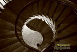 Staircase in the old capital in Iowa City, Iowa