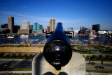 downtown Baltimore, Maryland from Federal Hill