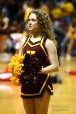 Univ. of Minnesota cheerleader
