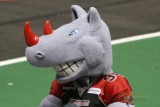 Grand Rapids Rampage mascot Blitz