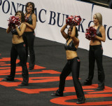 Grand Rapids Rampage cheerleaders