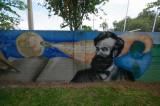 Wall mural of Jules Verne