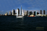 San Diego, California from Coronado Island