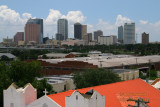 Downtown Tampa as seen from Ybor City