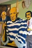 Miro, Picasso and Dali