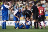 Injured player