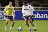 Patrick Kluivert and Timmy Simons