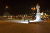 Samos Town at Night