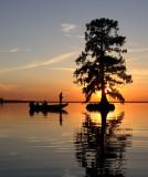 Fishing Cypress Sunset II