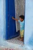 Boy at Door in Meknes