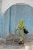 Receding Woman in Meknes