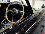 Bluemel's Wood Wheel on XK 150S Coupe