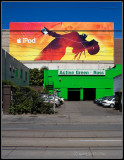 iPod Ad Over Active Green + Ross