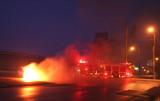 Milford Car Fire March 24, 2007