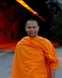 A Moment of Infinite Zen - Monk at Tunnel View