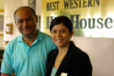 Our Hosts at the Best Western