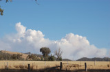 Bushfire Smoke looking South East.